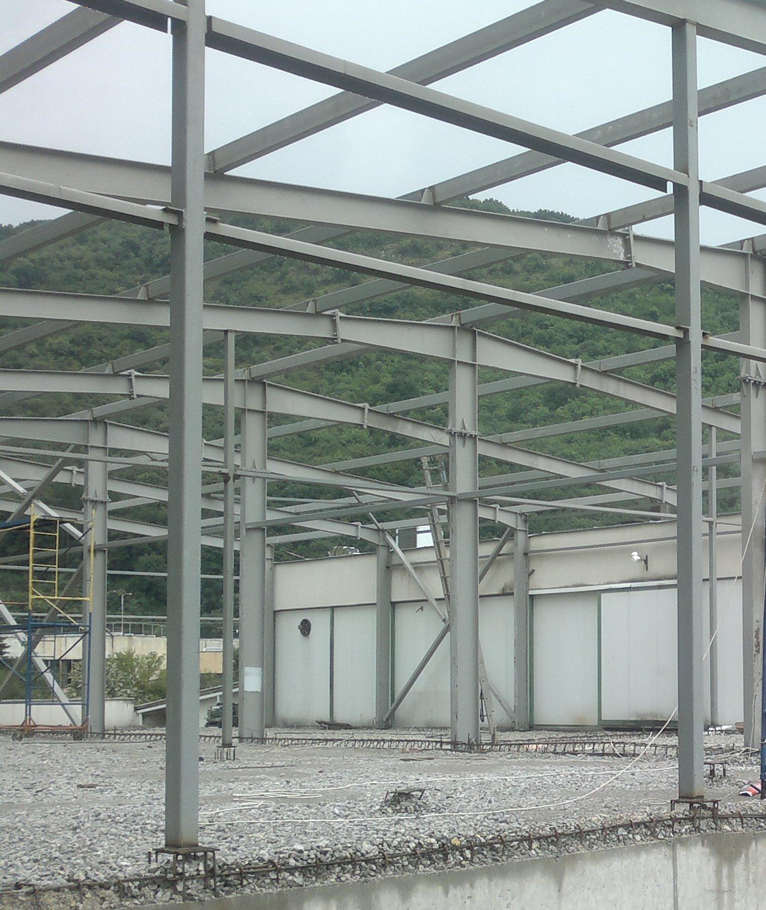 Готовата метална конструкция