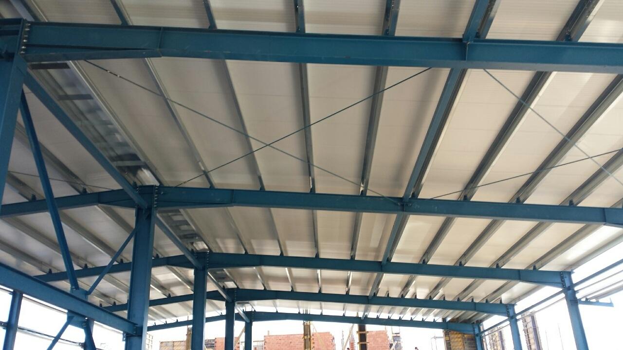 Покрив 2 на металната конструкция