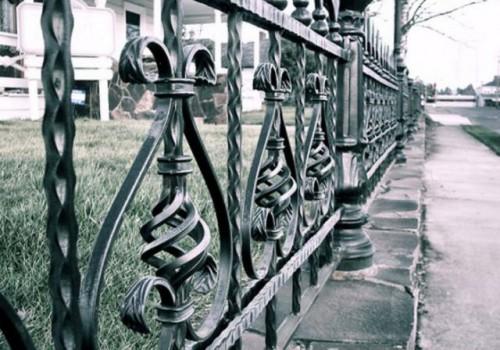Огради и парапети от ковано желязо